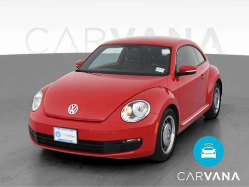 2012 VW Volkswagen Beetle 2.5L Hatchback 2D hatchback Red - FINANCE... for sale in Saint Paul, MN