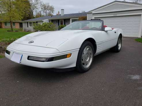1994 Corvette Convertible C4 29,500 Miles Reduced price for sale in Highland Park, WI