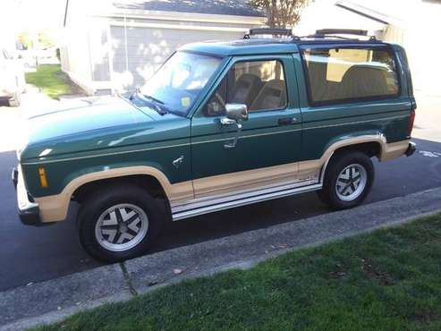 1986 Ford bronco Eddie Bauer edition - cars & trucks - by owner -... for sale in San Mateo, CA