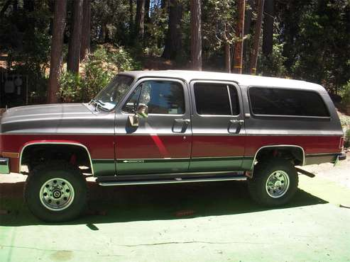 1989 Chevrolet Suburban for sale in Crestline, CA