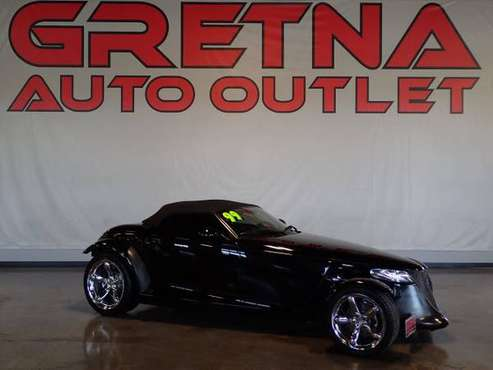 1999 Plymouth Prowler 2dr Convertible, Black for sale in Gretna, NE