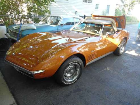 1972 CHEVROLET CORVETTE CONVERTIBLE - cars & trucks - by owner -... for sale in Naperville, IL