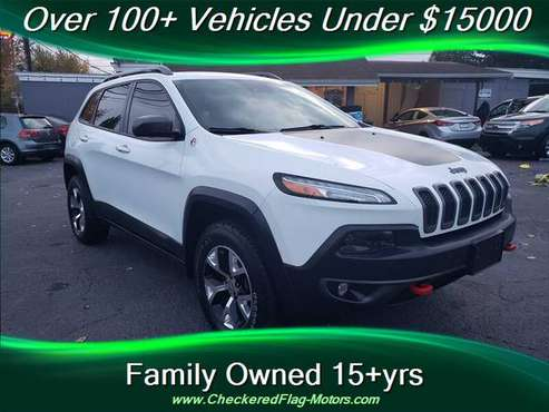 2014 Jeep Cherokee Trailhawk Must see local trade!!!! for sale in Everett, WA