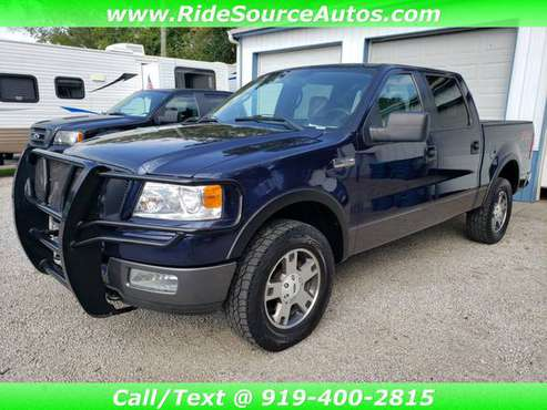2005 Ford F150 F-150 SuperCrew FX4 - 1 Owner, Clean Carfax w/Warranty! for sale in Youngsville, NC