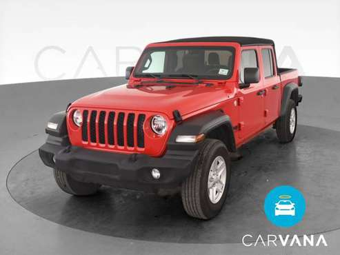 2020 Jeep Gladiator Sport S Pickup 4D 5 ft pickup Red - FINANCE... for sale in Albuquerque, NM