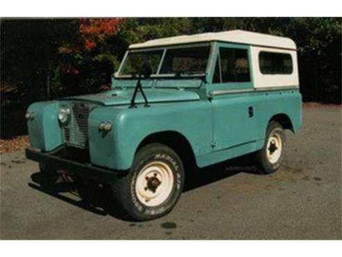 1967 Land Rover Series IIA for sale in Lynchburg, VA