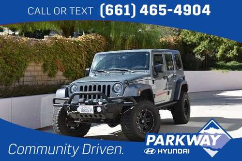 2014 Jeep Wrangler Unlimited Unlimited Rubicon for sale in Santa Clarita, CA