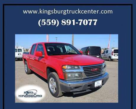 2009 GMC Canyon SLE 1 4x2 Crew Cab 4dr Pickup Truck for sale in Kingsburg, CA