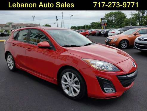 !!!2011 Mazda3 s Grand Touring Velocity Red Mica/Moonroof/Heated Seats for sale in Lebanon, PA