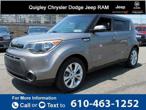 2014 Kia Soul + hatchback Titanium Gray for sale in Boyertown, PA