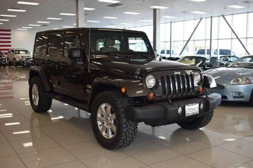 2013 Jeep Wrangler Unlimited Sahara 4x4 4dr SUV **100s of Vehicles**... for sale in Sacramento , CA