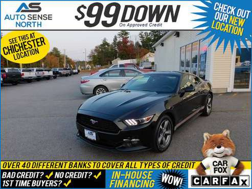 2016 Ford Mustang V6 - BAD CREDIT OK! - cars & trucks - by dealer -... for sale in Chichester, NH