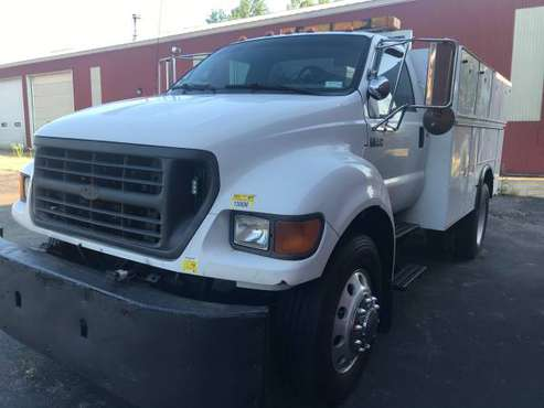 2002 Ford F-650 Mechanical Service Truck - cars & trucks - by owner... for sale in Angola New York 14006, NY