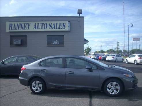 2013 Honda Civic LX for sale in Altoona, WI