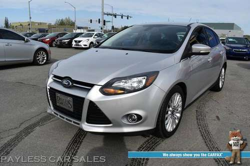 2012 Ford Focus Titanium / Automatic / Heated Leather Seats / Nav -... for sale in Anchorage, AK