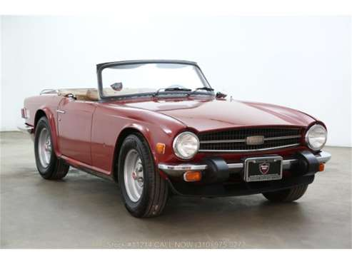 1976 Triumph TR6 for sale in Beverly Hills, CA