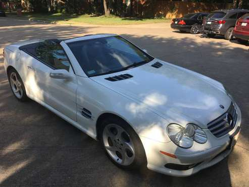 2005 Mercedes Benz SL 500 for sale in Plano, TX