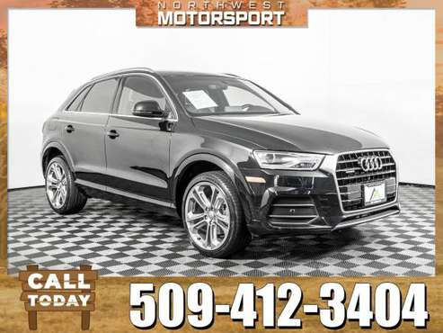 *SPECIAL FINANCING* 2017 *Audi Q3* Premium Plus AWD for sale in Pasco, WA