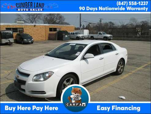 2012 Chevrolet Malibu 4dr Sdn LT w/1LT Suburbs of Chicago for sale in Desplaines, IL