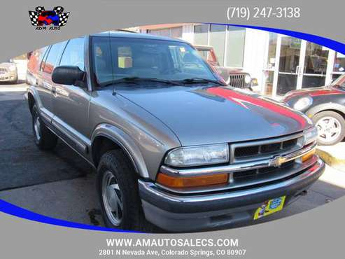 2001 Chevrolet Blazer - Financing Available! - cars & trucks - by... for sale in Colorado Springs, CO
