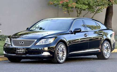 2008 LEXUS LS460 LWB GPS BACKUP CAM S550 750i A8 A6 LS430 STS LS430 for sale in Portland, OR