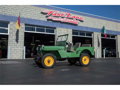1946 Willys CJ2 for sale in St. Charles, MO