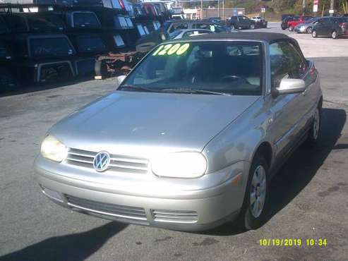 2001 Volkswagen Cabrio , convertible for sale in York, PA