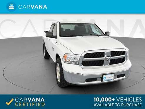 2013 Ram 1500 Quad Cab SLT Pickup 4D 6 1/3 ft pickup White - FINANCE for sale in Springfield, MA