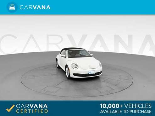 2015 VW Volkswagen Beetle 1.8T Convertible 2D Convertible White - for sale in Atlanta, GA