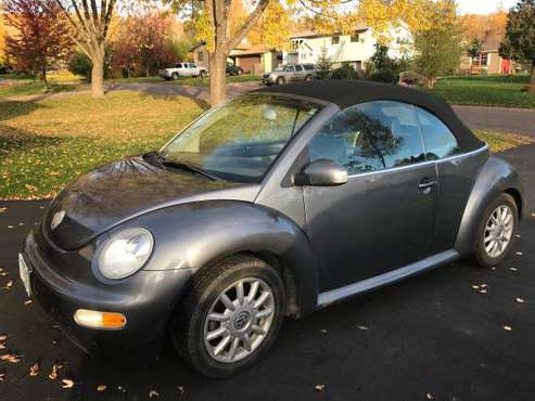 2004 Volkswagen Beetle convertible for sale in Duluth, MN