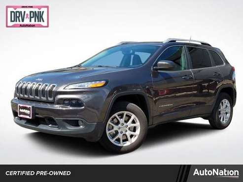 2017 Jeep Cherokee Latitude 4x4 4WD Four Wheel Drive SKU:HW601994 for sale in Englewood, CO