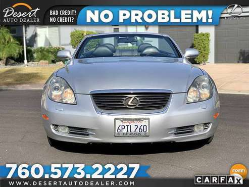2006 Lexus *SC* *430* *CONVERTIBLE* ** $234 /mo for sale in Palm Desert , CA