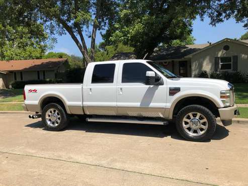 2008 F-250 King Ranch 4x4 CLEAN for sale in Richardson, TX
