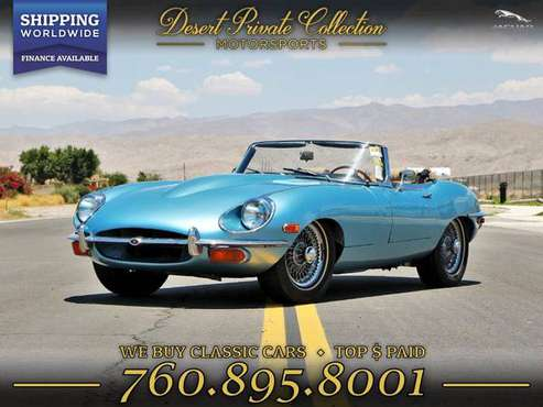 1969 Jaguar E Type xke Roadster FOR SALE. Trades Welcome! for sale in Palm Desert, TX