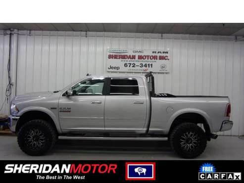 2015 Ram 2500 Laramie Silver - SM71740T **WE DELIVER TO MT & NO SALES for sale in Sheridan, WY