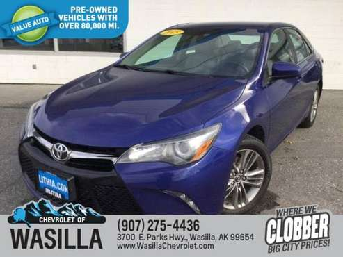 2015 Toyota Camry 4dr Sdn I4 Auto SE - cars & trucks - by dealer -... for sale in Wasilla, AK