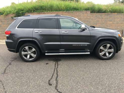 2015 Jeep Grand Cherokee, PRICE DROP!! Overland for sale in Eden Prairie, MN