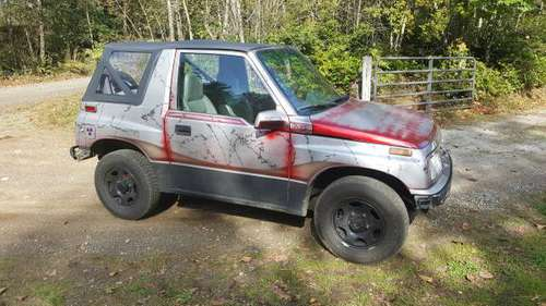1991 Geo Tracker 4wd soft top for sale in seabeck, WA