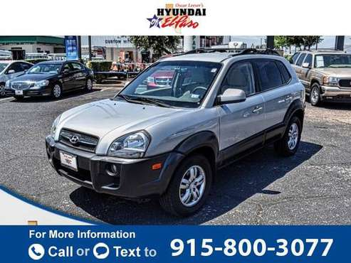 2008 Hyundai Tucson suv Silver for sale in El Paso, TX