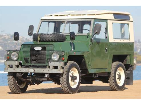 1978 Land Rover Series IIA for sale in San Diego, CA