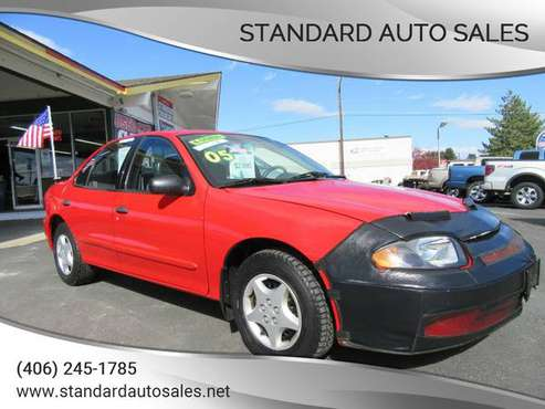 2005 Chevy Cavalier 4-Cylinder gas Saver!!! for sale in Billings, MT