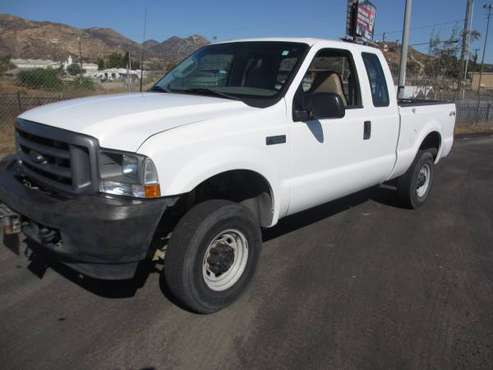 2003 Ford 4x4 Truck F250 Quad Cab for sale in Lakeside, CA