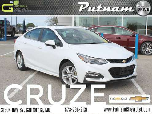 2017 Chevy Cruze LT FWD [Est. Mo. Payment $282] for sale in California, MO