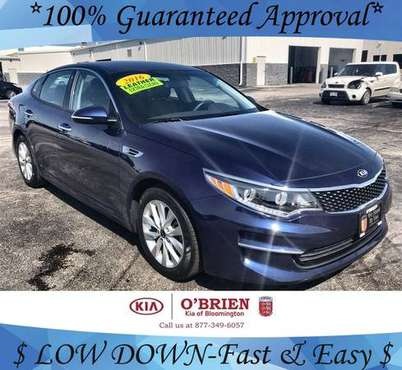 2016 Kia Optima EX -NOT A Pre-Approval! for sale in Bloomington, IL
