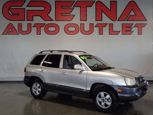 2005 Hyundai Santa Fe AWD GLS 4dr SUV, Gray for sale in Gretna, NE