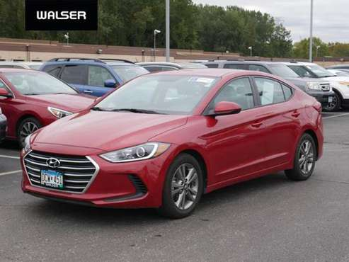 2018 Hyundai Elantra SEL for sale in Walser Experienced Autos Burnsville, MN