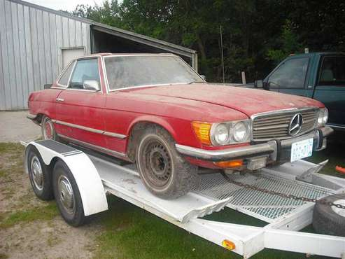 1972 Mercedes roadster for sale in Paynesville, MN