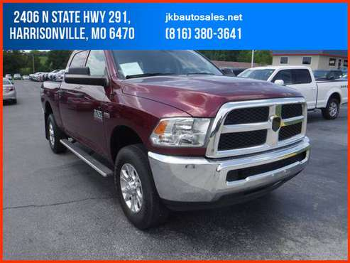 2017 Ram 2500 Crew Cab 4WD Tradesman Pickup 4D 6 1/3 ft Trades Welcome for sale in Harrisonville, KS