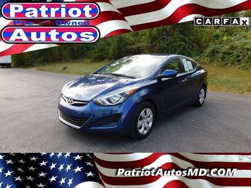 2016 Hyundai Elantra BAD CREDIT DONT SWEAT IT! for sale in Baltimore, MD