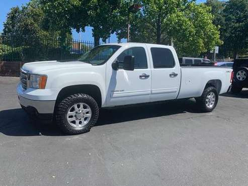 2013 GMC Sierra 3500 SLE Crew Cab*4X4*Tow Package*Allison*long Bed* for sale in Fair Oaks, CA